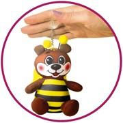 """Антистрессовая игрушка-брелок """"Пчелка"""" фото"""