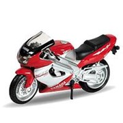 Welly Welly 12154P Велли Модель мотоцикла 1:18 Motorcycle / Yamaha 2001 YZF1000R Thunderace фото