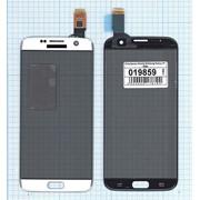 Сенсорное стекло (тачскрин) для Samsung Galaxy S7 Edge золотистое, Диагональ 5.5, 2560x1440 (WQHD) фото