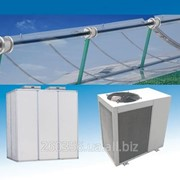 Система солнечного отопления фото
