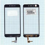 Сенсорное стекло (тачскрин) для Asus ZenFone Live (ZB501KL) черное, Диагональ 5 фото