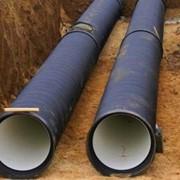 Водопровод, канализация фото