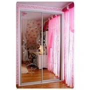 Шкаф-купе в комнату для девочки фото