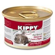 Паштет для кошек KIPPY говядина, сердце и печень 200 г фото