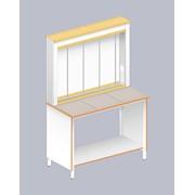 Стол для титрования лаб-1200 тт (trespa) фото