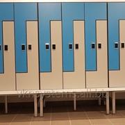 Шкафчики и шкафы для раздевалок, мебель для бассейнов SANIKAB фото