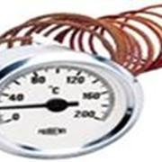Термометр d60мм, 200˚С, капиляр 2м фото