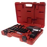 JTC-7663K1 Набор инструментов для шиномонтажа (с пневмогайковертом JTC-3202) 15 предметов в кейсе JTC фото