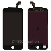 Дисплей для мобильного телефона Apple iPhone 6 Чёрный с Тачскрином фото