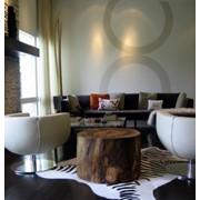 Винтажный кофейный столик фото