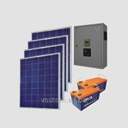 Автономная солнечная энергосистема Санфорс 800 (уст.P=800Вт, ном.P=2000Вт, 200Ач) фото