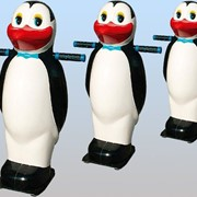 Зимний аттракцион Пингвин фото