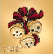 Набор для вышивания Jingle Bell Trio фото