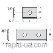 Сменные ножи с 2х сторонней заточкой 30×12×1,5 45°CMT 790.300.20 фото