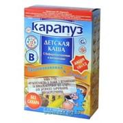 Каша Карапуз б/м 8 злаков с бифидобактериями без сахара фото