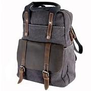 Рюкзак городской крафтовый фото