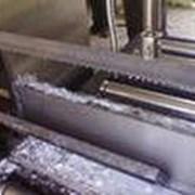 Резка металла ленточной пилой фото