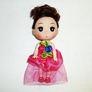 Кукла в платье 12см фото