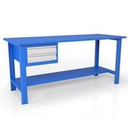 Стол из металла для слесаря ВСТ-Н 18/ТП1 фото
