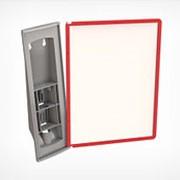 DATALINE-W A4 основание для настенной перекидной системы, 10 рамок фото