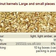 Ядро ореха грецкого крупные и мелкие кусочки фото