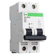 Автоматический модульный выключатель АВ2019 2Р C 6A 6кА Standart 62002 фото
