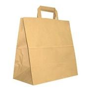 Пакеты из крафт-бумаги размером 265*65*90 мм под ТНП фото