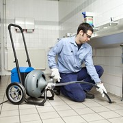 Прочистка канализации механическим методом фото