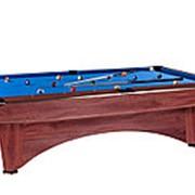 Бильярдный стол для пула Dynamic III 8ф (коричневый) фото