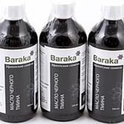 [Комплект из 3 шт.] Масло черного тмина BARAKA (эфиопский сорт, стекло), 3 шт. по 500 мл. фото