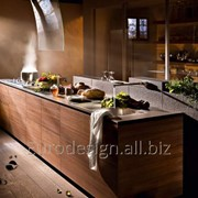 Современная кухня Mesons Artematica Noce Tattile фото