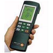 Манометр Testo 312-2точный с диапазоном измерения до 40/200 гПа, сертифицирован DVGW, сигнальный дисплей, батарея и протокол калибровки в комплекте фото