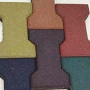 Плитка напольная резиновая фото