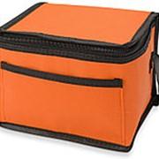 """Сумка-холодильник """"Альбертина"""", оранжевый фото"""