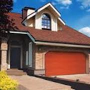 Секционные гаражные ворота серии TREND фото