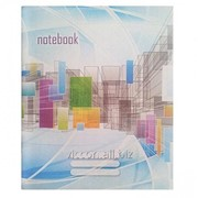 Тетрадь A5, 48 листов, клетка, цветная обложка CA5MCC-48RD фото