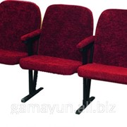 Кресло для актового зала мягкое, арт. 001-02026 фото
