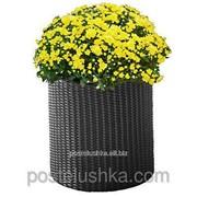 Горшок для цветов Medium Cylinder Planter Серый фото