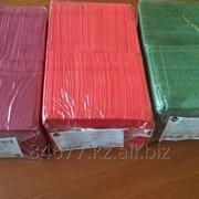 Салфетки цветные 24*24см фото