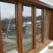 Изготовление оконных блоков из древесины фото