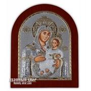 Вифлеемская Икона Божией Матери - Красивая Икона Из Греции С Серебром И Позолотой Код товара: ОGOLD фото