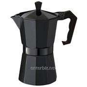 Кофеварка гейзерная Con Brio CB6009BL + запасная прокладка DDP, код 128895 фото