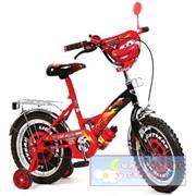 Велосипед детский 2-х колесный Тачки Disney фото