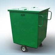 Контейнер для бытовых отходов передвижной от произ фото