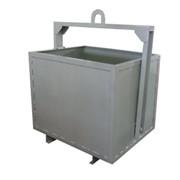 Мусорные контейнеры. Контейнеры для ТБО, металлические мусорные баки, евроконтейнеры. фото
