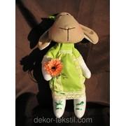 """Мягкая игрушка, овечка """"Дуня"""", ручной работы. 3121 фото"""