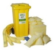 Набор для ликвидации разливов химических веществ superior передвижной контейнер , 120 литров. артикул: 04-1120 1041 фото