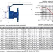 Кран ALSO КШ.Ф.RS.065.16-02 Ду65 Ру16 фланцевый редуцированный серия RS фото