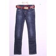 Стильные женские джинсы на флисе