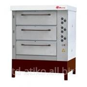 Хлебопекарная ярусная печь ХПЭ-750/3 фото